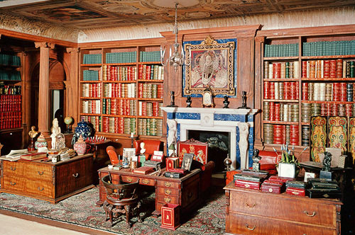 dollhouse---library